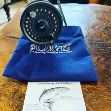 Orvis Battenkill Disc 7/8 Trout Fly Reel Cortland Line & Bag Made in England