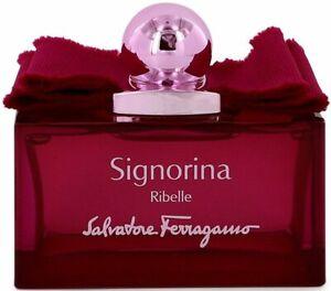 Signorina Ribelle by Salvatore Ferragamo perfume EDP 3.3 / 3.4 oz New Tester