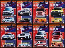 2021 Matchbox Global Series Wave B Complete Set - 8 Vehicles / Scania / BMW M5