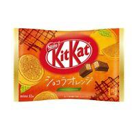 Japanese kitkat nestles mini kit kats NEW Chocolat orange chocola chocolates 12
