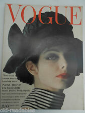VOGUE  MARCH 1st 1962 - More Birthday Issues in our shop- FREE GIFTWRAP
