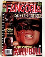 """FANGORIA"" Magazine Issue #227 (Oct, 2003) KILL BILL, GOTHIKA, UNDERWORLD + more"