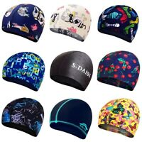 Unisex Printing Swimming Cap Waterproof Silicone Swiming Pool Hat.yullu EsIkP