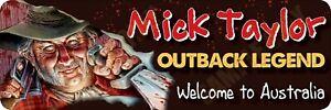Mick Taylor New Cartoon Bumper Sticker