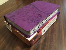 KJV Sisters in Faith Study Bible Indexed - Purple Leathersoft - $79.99 Retail