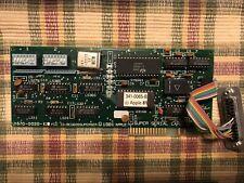 Super Serial Card II Apple II, II Plus, IIe, 670-0020-B 820-0046 1981