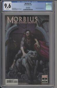 MORBIUS #2 - CGC 9.6 - E.M. GIST VARIANT - RARE GRADED COPY - 2101573012