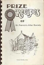 *COUNCIL BLUFFS IA VINTAGE *PRIZE RECIPES *CATHOLIC CHURCH COOK BOOK *LOCAL ADS