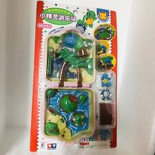 1998 Auldey Tomy Pokemon Pocket Monsters Mini Playset Squirtle & Poliwhirl Chibi