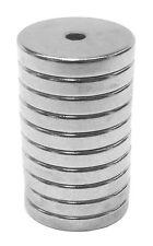 3/4 x 1/8 x 1/8 inch Neodymium Rare Earth Ring Magnets N48 (10 Pack)