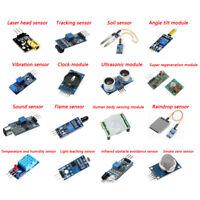 16pcs Sensor Module Board Kit for Arduino Raspberry Pi 3/2 Model B 1Set