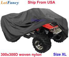 ATV Quad Bike Waterproof Cover Rain Dust Fit Honda Raptor Suzuki PABTV Size XL