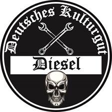 Diesel Deutsches Kulturgut Aufkleber Sticker Feinstaubplakette JDM Fun 2 Stück!