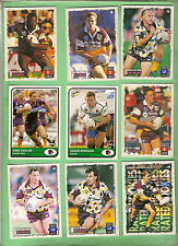 BRISBANE BRONCOS - LOT OF 27 RUGBY LEAGUE CARDS