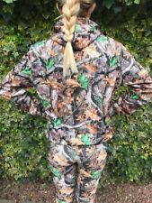 Festival Clothing Hoodie Jumper Realtree Style Pattern Brand New Medium Size 10