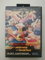 Sega Megadrive World of Illusion Starring Mickey Mouse and Donald Duck