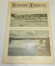 3/6/1909 SCIENTIFIC AMERICAN/Niagara Falls Dries Up, Barrage Across Nile River