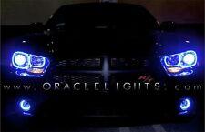 2011-14 Dodge Charger Oracle Plasma Halo Headlight Light Kit (Color: Blue)