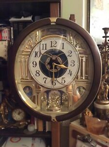 Seiko Melodies in Motion 18 Melody QXM491BRH Wall Clock