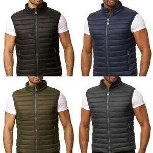 Mens Gillet Body Warmer Waistcoat Urban Fashion Style Streetwear Outdoors