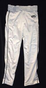 Rawlings Youth Premium Baseball/ Softball Semi-Relaxed Fit Piped Pants XL YLNCSR