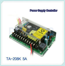 AC100-240V to 12V/5A Power Supply Support Backup Battery for Door Access Control