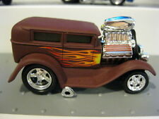 Muscle Machines MM 1928 Ford Model A RR M2 HW Hot Wheels Real Riders brown