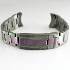 Parnis Sterile 20mm 316L Solid stainless steel bracelet fit 42mm mens watch P210