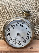 Vintage 1903 ELGIN 18S, 15j Model 5 Grade 218 Open Face Pocket Watch WORKING (8)