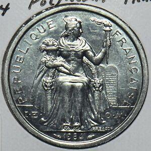 French Polynesia 1984 2 Francs 297740 combine