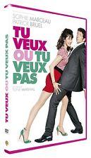 DVD *** TU VEUX OU TU VEUX PAS *** avec Patrick Bruel, Sophie Marceau ( neuf )