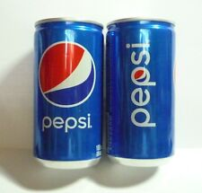 PEPSI can SOUTH KOREA short 190ml NEW Design 2017 Blue Collect Asia 10cm