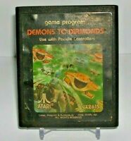 Atari 2600 game Demons To Diamonds Sears Telegames Tested and Working
