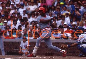 1990 Mariano Duncan CINCINNATI REDS - 35mm Baseball Slide (MP1)