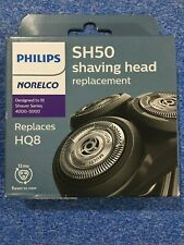 Philips Norelco Replacement Heads SH50/HQ8 New