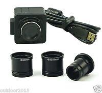 5MP Mikroskop USB Digital kamera Video Elektronische Okular mit C Mount adapter