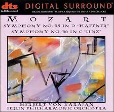 Mozart  Symphony No 35 in D 'Haffner' Symphony No 36 C Linz DTS 20 Bit 5.1 NEW