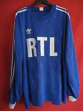 Maillot Coupe de France RTL Porté n° 4 Adidas vintage Adidas Rétro - XL