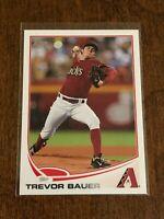 2013 Topps Baseball Base Card - Trevor Bauer - Arizona Diamondbacks