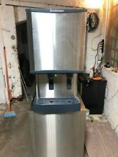 Scotsman Hid540a 1 Meridian Countertop Air Cooled Ice Machine And Water Dispense