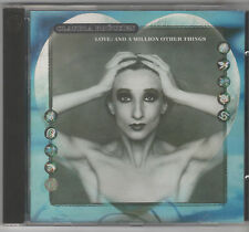 CD CLAUDIA BRUCKEN LOVE:AND A MILLION OTHER THINGS ISLAND 1th issue Propaganda
