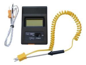 TM-902C K Type Digital Thermometer -50°C_750°C Thermocouple Sensor and Probe