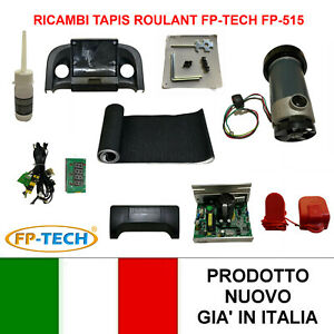 FP-TECH RICAMBI MOTORE CENTRALINA SCHEDA TAPPETO TAPIS ROULANT ELETTRICO FP-515