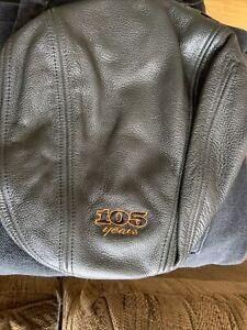 Men's Harley Davidson 105th Anniversary Leather Hat, Large