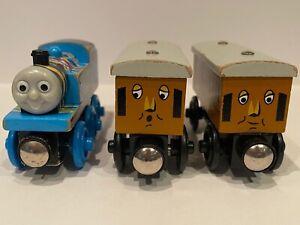 Thomas Happy Birthday Annie And Clarabel Wooden Trains Good Condition Rare Train
