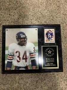 Walter Payton - Chicago Legend Plaque 15x12