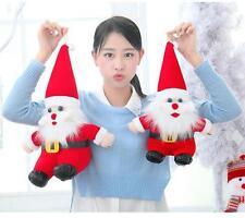 Christmas Big Santa Claus Soft Toy Kids Xmas Party Gifts Plush Doll YD