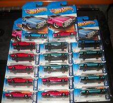 2011 Hot Wheels MUSCLE MANIA #108 ∞ '71 DODGE CHARGER ∞ LOT OF 17 -BLUE GRN PINK