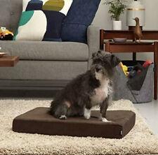 BARKBOX Orthopedic Dog Bed Gel Memory Foam Sleep Mat Removable Cover GRAY SMALL