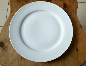 10 Stück Speiseteller Platzteller 30,5cm Porzellan Weiß Neu
